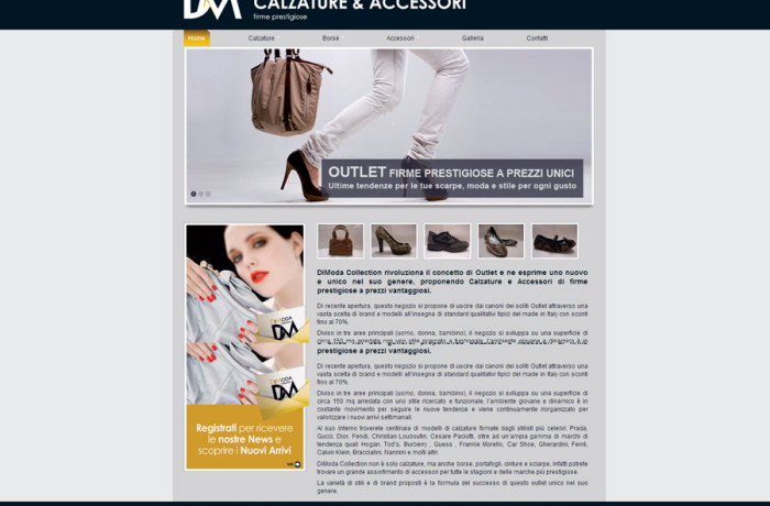 DiModa Collection Outlet